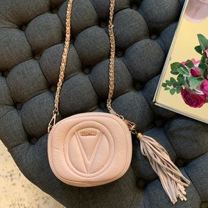 Valentino crossbody bag. Blush color.